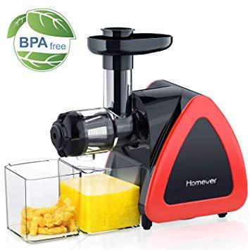 Homever Estrattore di Succo a Freddo, BPA Gratuito Estrattore