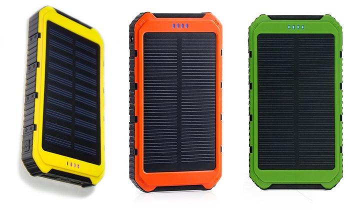 Powerbank ad energia solare 10000mAh