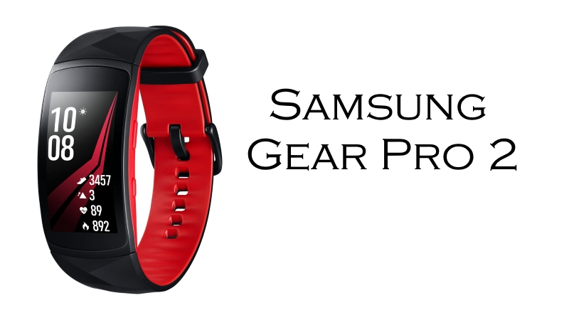 Samsung Gear Fit 2 Pro Bracciale Fitness - Smartwatch ABC