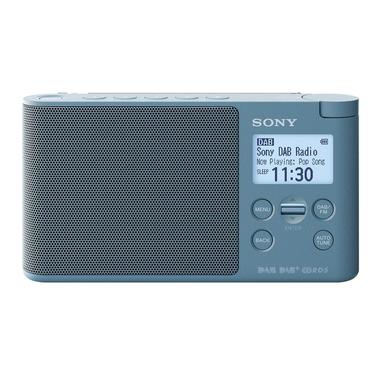 Sony XDR-S41D radio Portatile Digitale Blu