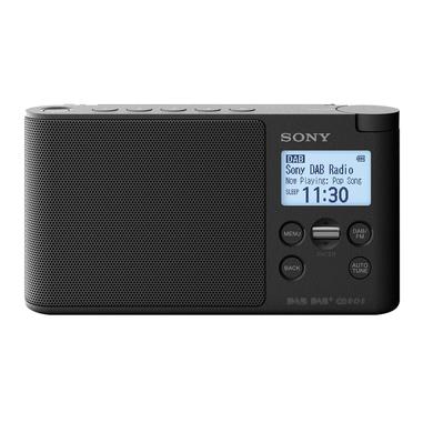 Sony XDR-S41D radio Portatile Digitale Nero