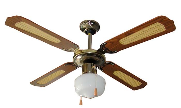 Ventilatore da soffitto a 4 pale