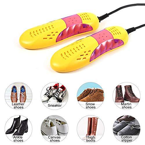 Yosoo asciuga scarpe elettrico Scalda essiccatore deodorante