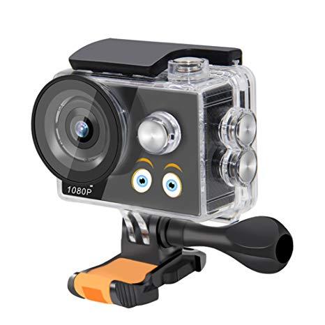 Bambini Kid sport Action Camera 29,9 m impermeabile 1080p Digital