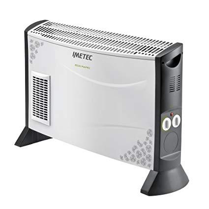Imetec Eco Rapid TH1-100 Stufa Elettrica 2000 W con Tecnologia a