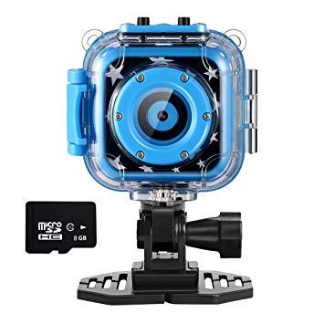 Ourlife Kids Action Cam, Action Camera per bambini con