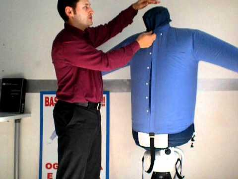 Stirare ed asciugare camicie in automatico _ STIRASCIUGATORI eolo