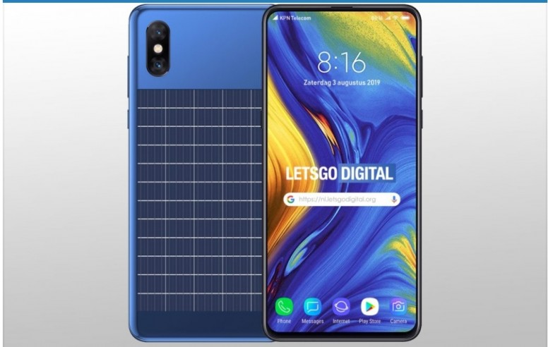 Xiaomi designs a smartphone with integrated solar panel - Tech