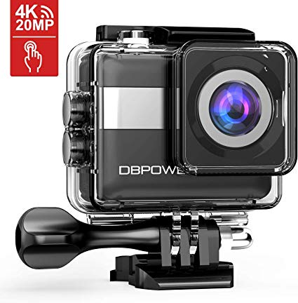 "Amazon.com : DBPOWER N6 4K Touchscreen Action Camera, 2.31"" LCD"