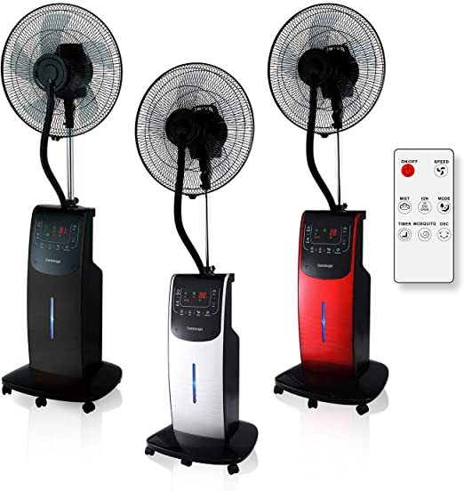 I Migliori 7 Ventilatori con Nebulizzatore Acqua