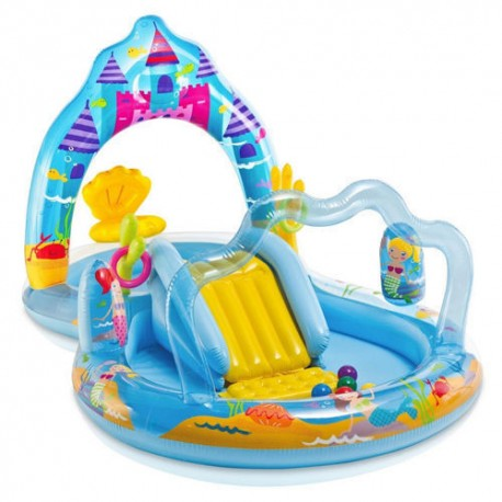 PISCINA GONFIABILE PLAY CENTER REGNO MADONNA PER BAMBINI INTEX