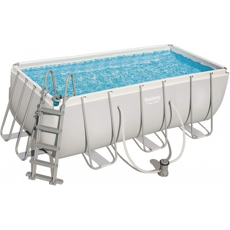 Piscina Power Steel 412x201x122 cm con Filtro a Cartuccia