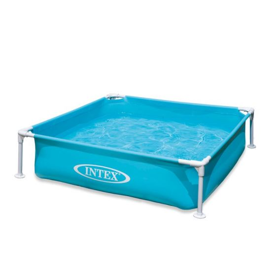 Piscina quadrata per bambini INTEX™ Mini Frame - blu (122 x 122 cm