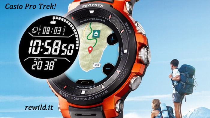 Casio Pro Trek- I migliori orologi Casio da outdoor e da trekking
