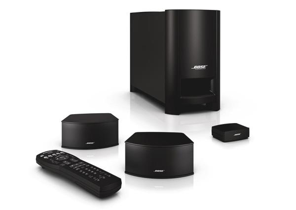 CineMate® GS digital home cinema speaker system Black