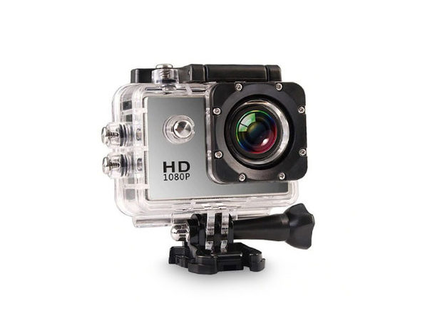 Electronic Avenue HD Waterproof Action Camera + Accessory Pack