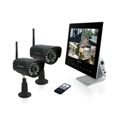 Kit Videosorveglianza wireless digitale 4CH - Sicurezza, allarme e