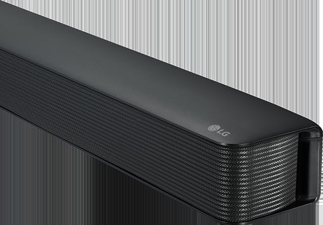 LG SK1 Compact Bluetooth Soundbar Black