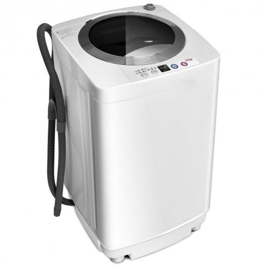 Costway 2 in 1 Lavatrice portatile 3,5 kg Mini lavatrice lavaggio