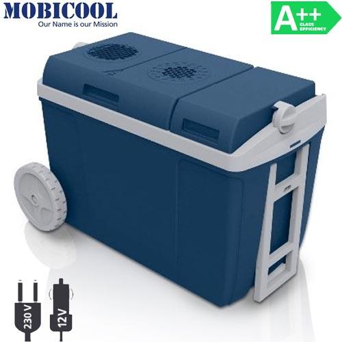 Frigo Elettrico Portatile Ruote e Manico 37 l Frigorifero 12 V 230