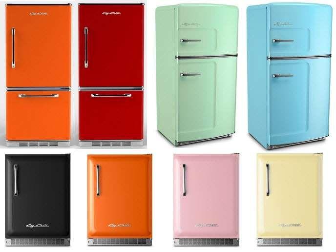 Frigoriferi colorati | Frigorifero vintage, Frigorifero e Idee per