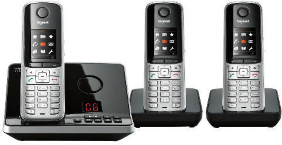 Gigaset S795 Trio Cordless Phone | ▤ Full Specifications