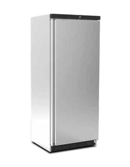 Armadio frigorifero esterno INOX verticale 0 + 7 C da Lt. 600
