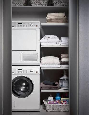 Bagno piccolo con lavatrice (con immagini) | Bagno piccolo