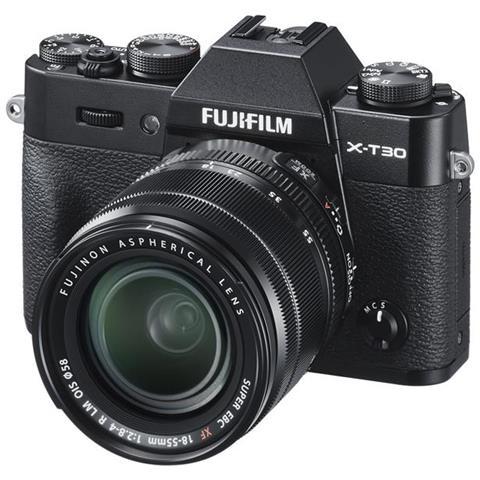 FUJIFILM - Fotocamera Mirrorless X-T30 18-55MM F2.8-4 BLACK - ePRICE
