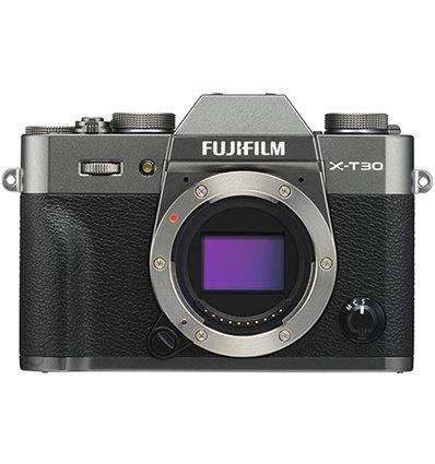 Fujifilm X-T30 – fotocamera mirrorless – Body – Argento scuro