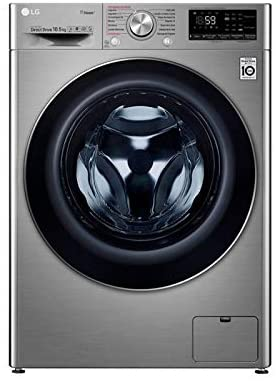 Lavatrice LG F4WV710P2T 10,5 kg 1400 rpm classe A+++ acciaio