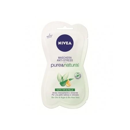 NIVEA - Maschera Per Il Viso Anti-Stress Con Bio Aloe Vera E Olio