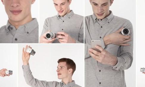 Olympus Air: una nuova fotocamera esterna per smartphone Android e