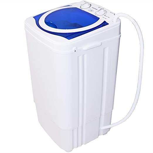 Syntrox Germany A 7 kg bianco blu una lavatrice con carico da