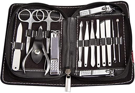 Beaupretty 15Pcs Kit manicure per manicure professionale in