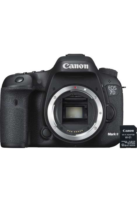 EOS 7D Mark II + adattatore Wi-Fi W-E1 Canon Fotocamera Reflex 20