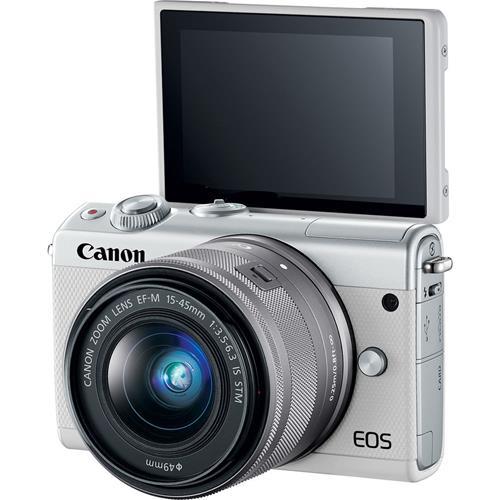 FOTOCAMERA MIRRORLESS Canon EOS M100 + 15-45mm STM White Prezzo