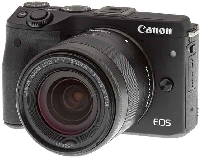 Macchine fotografiche Mirrorless Canon Eos M3 vs Eos M Sony e