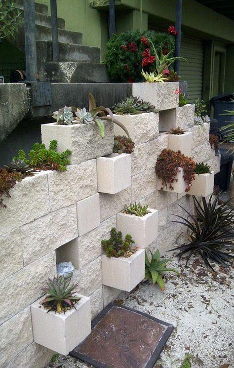 Muretti | Giardino verticale, Strutture da giardino, Giardino