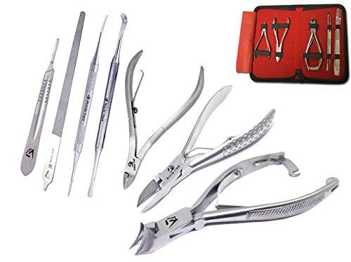 Professionale Tagliaunghie - Affetta unghie - Kit di Pedicure per