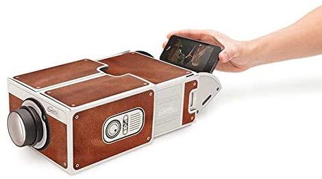 Proiettore per Smartphone Mini Mini in Cartone Portatile 2.0