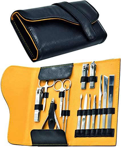 Set Manicure Pedicure Professionale in Acciaio Inox - Kit