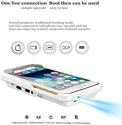 snail shop Video proiettore Portatile per iPhone X/8/7/6/6S Plus