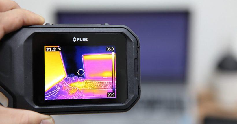 Telecamera termica, camera termica, o fotocamera termica: visone