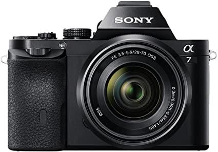 Sony Alpha 7K - Kit Fotocamera Digitale Mirrorless con Obiettivo