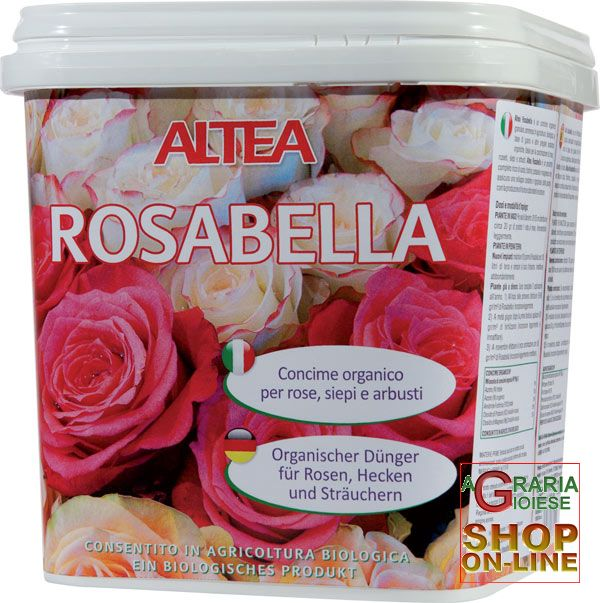 Acquista ALTEA ROSABELLA CONCIME ORGANICO