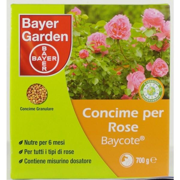 BAYCOTE ROSE CONCIME A LENTA CESSIONE CONFEZIONE DA 700 GRAMMI