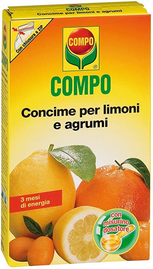 Compo, Concime per Limoni e Agrumi, per Uno Sviluppo equilibrato