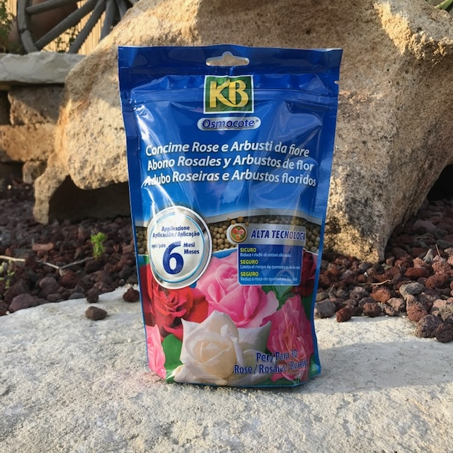 Concime per Rose e Fiori KB Osmocote, Fertilizzante in Granuli 750gr
