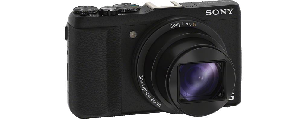 DSC-HX60 Black Fotocamera compatta con zoom ottico 30x - Fotoluce